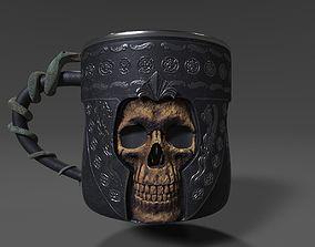 Gothic - Horror Mug 3D model