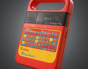 3D asset 80s - Digital Speller Toy