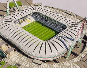 Allianz Stadium Juventus 3D model