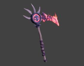 3D asset Bloodreaver Scythe