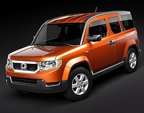 3D Honda Element