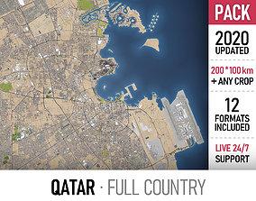 Qatar landscape 3D
