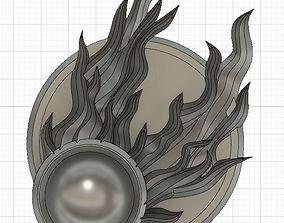 Twin Tailed Comet of Sigmar badge 3D print model