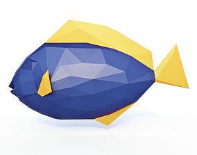 3D asset Dori Low Poly