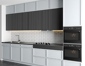 3D model furniture modern kitchen
