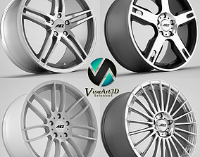 AEZ wheel rims 3D model