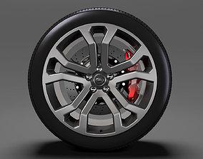 Range Rover SVAutobiography Dynamic wheel 2017 3D