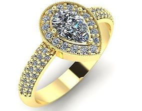 Beautiful ring 14 3D print model