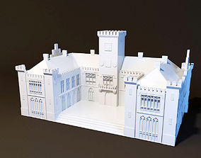 Neo-Ghotic Town Hall 3D print model