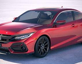 3D Honda Civic Si Coupe 2020