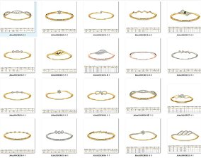 Collection- Bulk Bracelets-0002-3dm with stones-20 Files