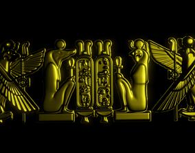 3D printable model hieroglyphics Language
