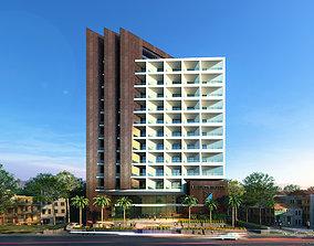 3D model Liberty Hotel