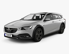 3D model Opel Insignia Country Tourer 2017