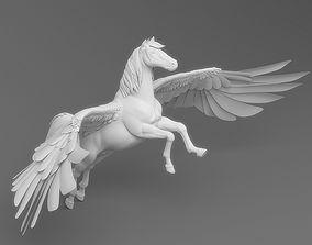 3D rigged Pegasus
