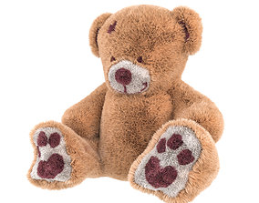 3D model Teddy Bear Tony