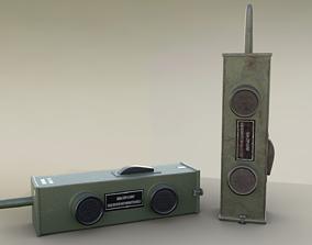 3D asset Old Walkie Talkie