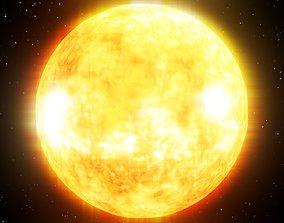 Sun Central Star Estrela Central 3D model