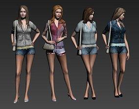3D model characters