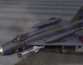 bac English Electric Lightning F-6 - BAC 3D model