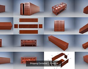 Shipping Container 3D toys