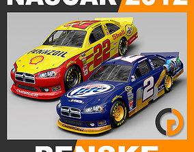 Nascar 2012 Cars - Penske Racing Team 3D