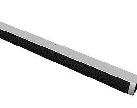 international SoundBar speaker - white 3D printable model