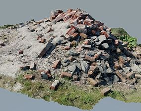 3D asset Pile of Rubble 1 - Photo-Realistic