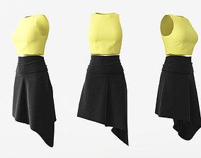 Female Clothing 04 3D model