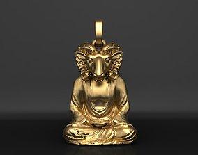 3D printable model Pendant Egyptian god Khnum