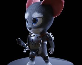 3D printable model iron rat 2020