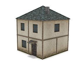 3D model Old Residential House