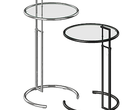 3D Eileen Gray Adjustable Table E1027