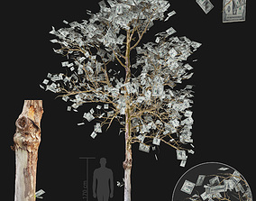 scifi 3D Money Tree