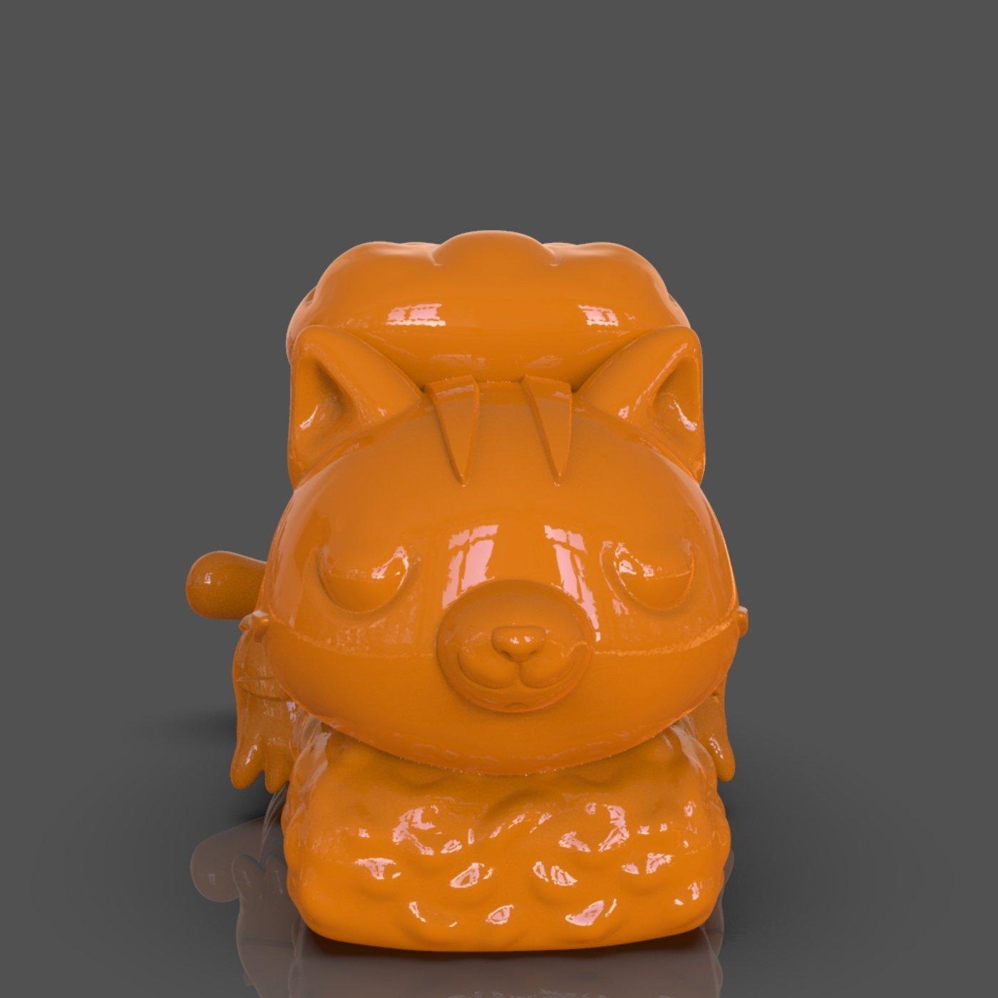 Nigiri Cat 3D Print
