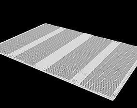 Industrial Grid 03 3D