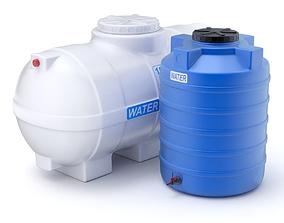 3D Plastic Water Storage Tanks