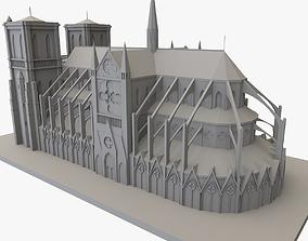 Notre Dame De Paris 3D printable france