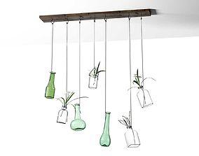 leaf Hanging Vases 3D
