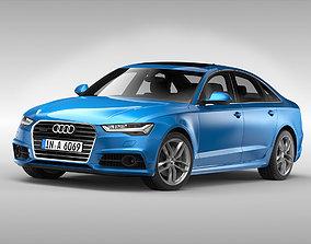 Audi A6 2017 3D
