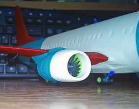Boeing 737-800 no Winglet Landing gear 3D printable model