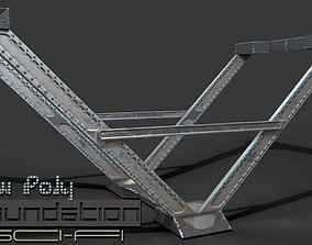 Metal Foundation - Game Ready - VR AR 3D asset