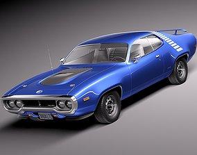 Plymouth Road Runner GTX 1971-1975 3D