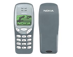 Mobile Phone Nokia 3210 3D model