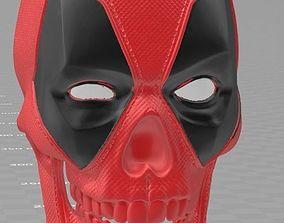 Skull of deadpool 3D print model