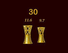 Para ball jewelery gold printable plain studded 30