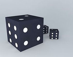 dice games houses the world 3D model
