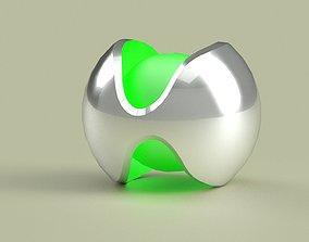 3D model my new logo design