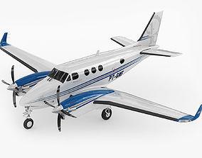 3D Beechcraft King Air c90gtx