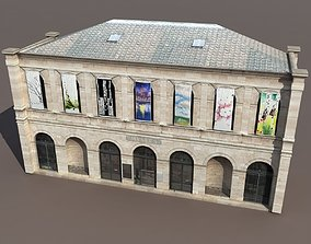 3D Gallery or Museum Low Poly 124